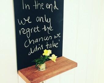 Chalkboard Shelf