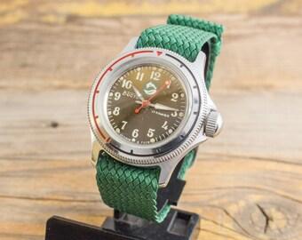 Vintage Boctok Wostok mens watch, mechanical watch, soviet mens watch, vintage russian watch, amphibia