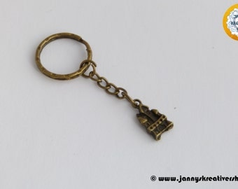 Castle key chain