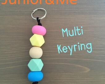 Multi Colour Lover Keyring