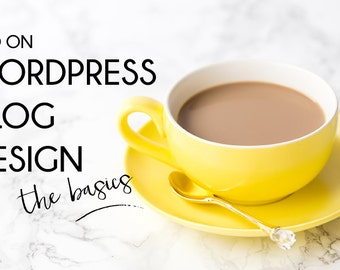 ADD ON Budget Blog Design Package for Wordpress: Blog and Business