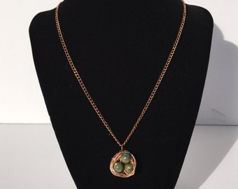 Bird's Eggs in a Nest Necklace