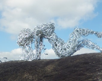 Wire Woman, Sculpture