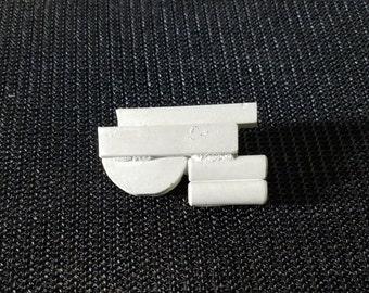 Geometric Micro Concrete Pin