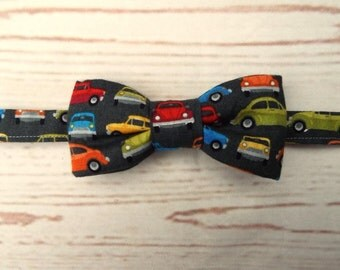 Baby Bow Tie - Cars Birthday Party - Kids Bow Ties - Toddler Bow Tie - Grey Bow Tie - Bow Tie UK