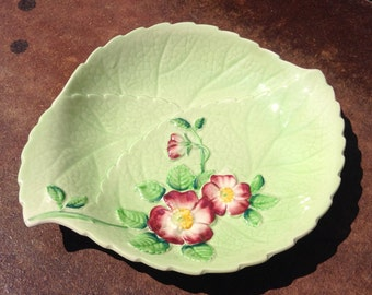Carlton Ware/Australian Design/Dish with Pink Flowers