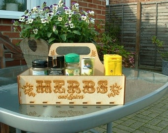 Handy Herb Box for Kitchen or BBQ