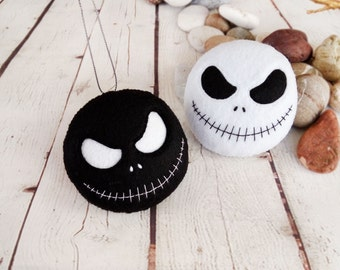 halloween decoration jack skellington spooky felt toy halloween gift baby shower favors nightmare before christmas decor