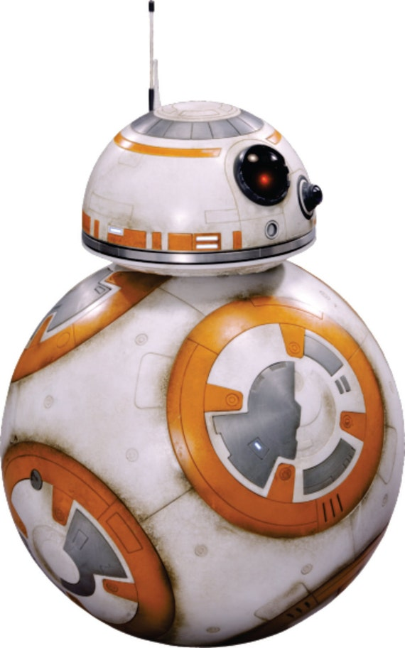 Star Wars Force Awakens Bb 8 Movie Characters Home
