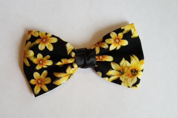 Yellow Sunflowers hair bow little girls hair accesories