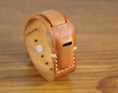 Leather Fitbit Flex Bracelet for Men and Women, Vegetable Tanned, Fitbit Leather Band, Flex Wristband, Fitbit Accessory, Wearable Technology