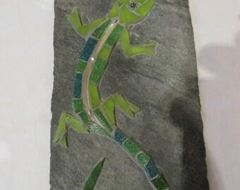 Green Mosaic Lizard
