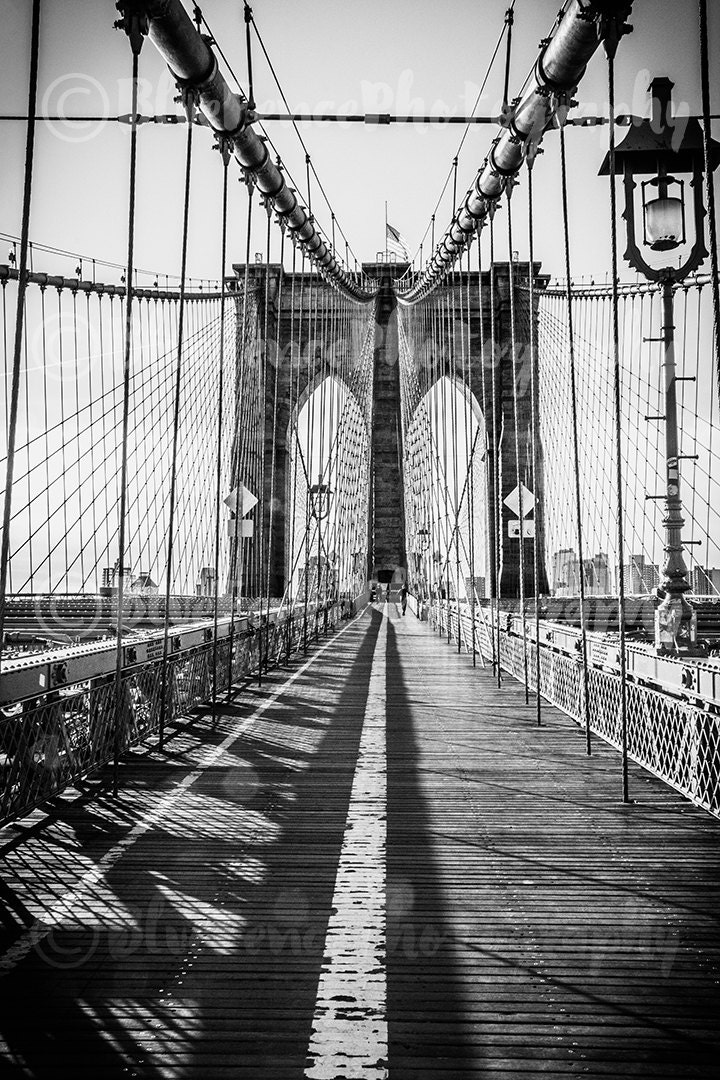 Brooklyn Bridge New York City Photography NY Print Brooklyn