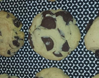 Choc chip cookie, dark chocolate, milk chocolate, white chocolate, mens gifts