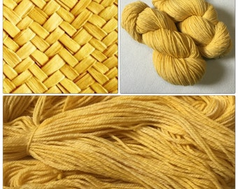 Hand Dyed Yarn, Hand Painted Yarn, DK, Merino, Tonal, Semisolid, Color: Wicker Work