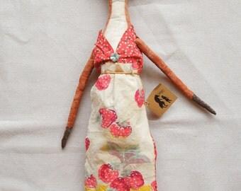 Foxy Rebecca Fox Primitive Doll