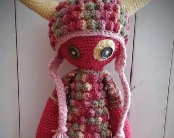 Crochet Monster Doll