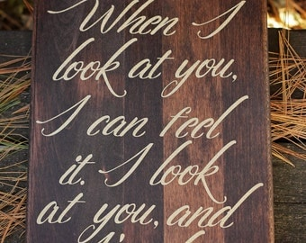 Wood Wall Art Quotes quote on wood | etsy
