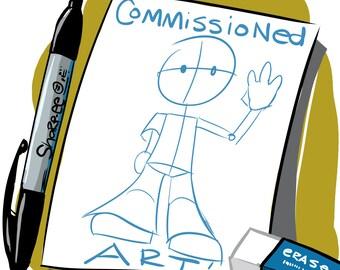 Custom Drawing, Logo, Or Original Piece of Art!