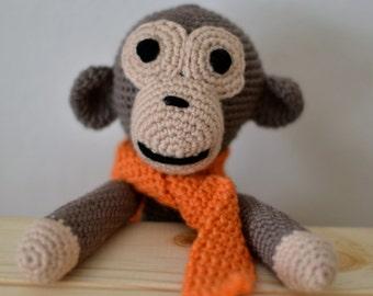 Max the Handmade Crochet Monkey