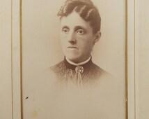 Antique photo album, velvet covered, floral applique, 18 cabinet cards, 9 miscellaneous, Downton Abbey Era