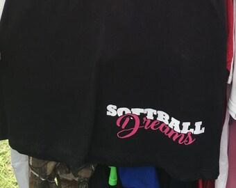Softball Dreams Night Dress Nightgown