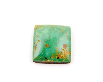Natural King's Manassa Green Turquoise Cabochon