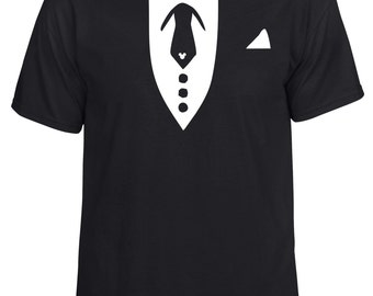 Disney inspired tuxedo tie formal night cruise vacation tshirt