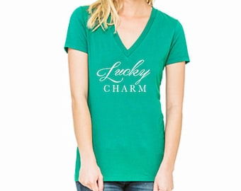 Women's St. Patrick's Day Shirt - Lucky Charm