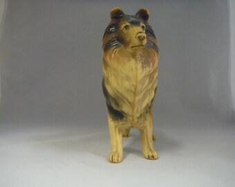 Vintage Lassie Dog Figurine