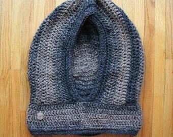 denim | large hideaway hood