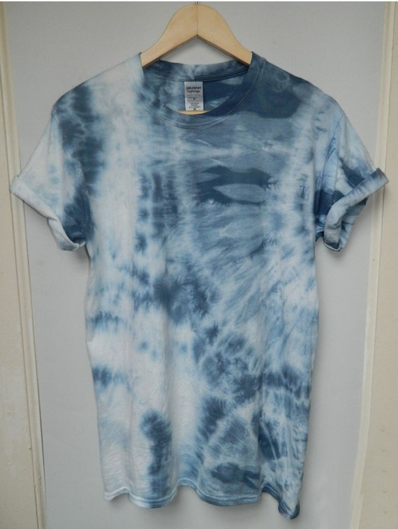 Tie dye t shirt acid wash t shirt hipster festival grunge for How to wash tie dye shirt after dying