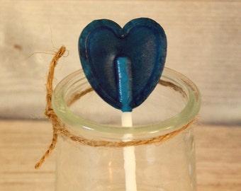 Pacifier blue love heart
