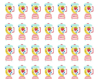 Smoothie Planner Stickers for use with ERIN CONDREN LIFEPLANNER™, Happy Planner, Travelers Notebook etc