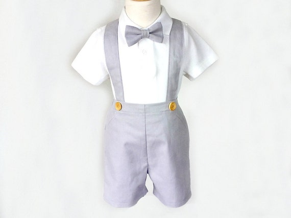 Baby boys' shirt and suspender pant set is perfect for family holiday photos Everyone will be saying how adorable your baby boy is when he wears this 2-Piece Jacquard Shirt, Bow Tie and Pants with Suspenders Set from Cat & Jack™ during the holiday season.