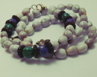 Job's tears bracelets/paper beads /gift