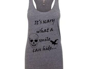 Scary Skull Smile Tank
