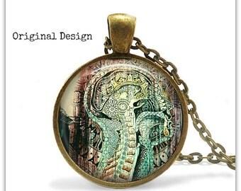 Anatomy Jewelry Spine Necklace Spine Jewelry Anatomy Gift Chiropractor Gifts Graffiti Art Necklace Boho Jewelry Bohemian jewelry