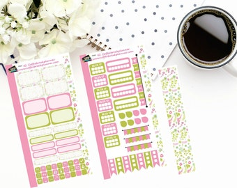 Personal Planner Weekly Sticker Kit| Planner Stickers| Summer Tropical Birds| P003