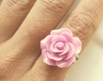 Rose Ring, Vintage Rose adjustable Ring