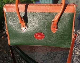 Dooney and Bourke Green All weather Purse