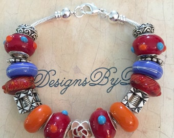 Bumpy European Style Bracelet