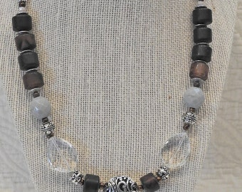Cocoa Brown Necklace