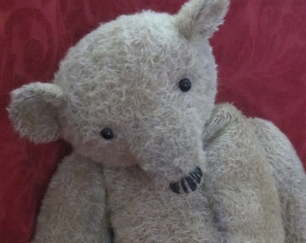 "Arthur Higginbottom - Large OOAK Handmade Mohair Artist Bear 23"""