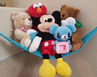 Crochet Toy Hammock/Toy Storage/Corner Storage