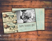 INSTANT DOWNLOAD - Father's Day Mini Cards - Photoshop Templates