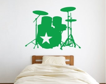 Star Drummer Wall Decal (1740-WALL)