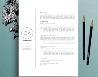 professional resume template cv template cover letter for ms word creative resume template - Word Professional Resume Template
