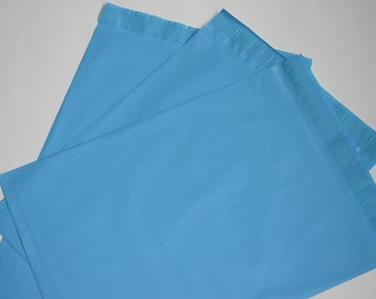 20 12x15.5 Poly Mailers BLUE Self Sealing Envelopes Shipping Bags Spring Easter