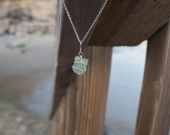 Seaglass Sunset Necklace